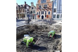 Zeldzame opgraving Kerkplein