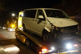 Drie auto's total loss in Berkhout