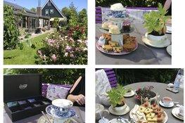 20% korting HIGH TEA bij Theetuin & Atelier The Twins Benningbroek