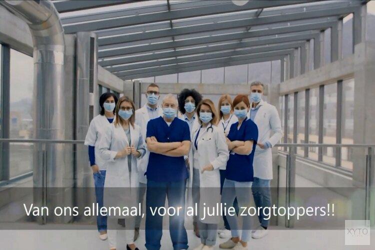 LEUN OP MIJ - Speciale uitvoering voor alle zorgmedewerkers van Nederland uitgevoerd door JBJ