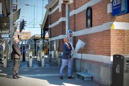 Plaquette van Joodse slachtoffers Tweede Wereldoorlog onthuld bij station
