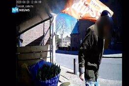 Man probeert geldkistje tulpenkraam De Goorn open te breken