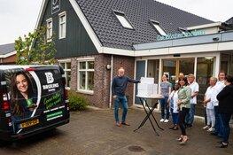 Bruijns Koffie uit Zwaag verrast Omringmedewerkers én cliënten met wafels