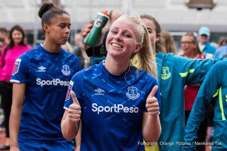 Inessa Kaagman vertrekt bij Everton