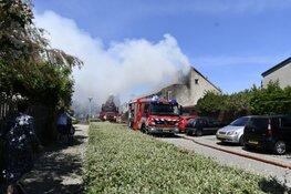 Grote brand in Hoorn