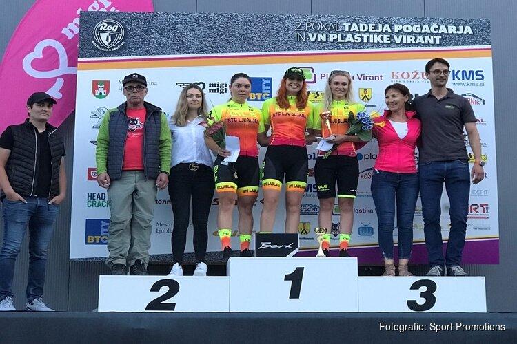 Winst voor Maaike Boogaard in eerste wielerkoers na corona uitbraak