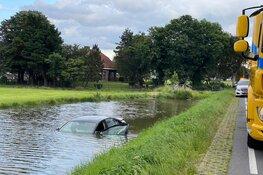 Auto te water in Berkhout