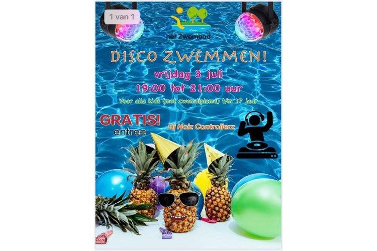 Discozwemmen en aangepaste dagplanning bij het Zwembad Midwoud
