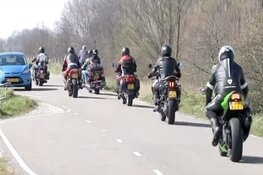 Proefafsluiting op Zuiderdijk: motoren tijdelijk niet welkom