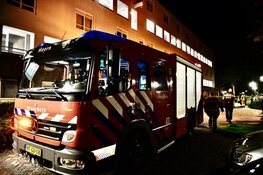 Korte ontruiming vanwege brand Westfriese Hof