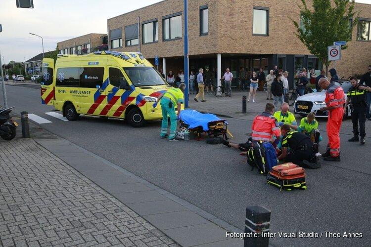 Scooterrijder gewond in Obdam: traumaheli ter plaatse