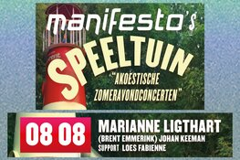 Manifesto's Speeltuin met Marianne Ligthart en Johan Keeman