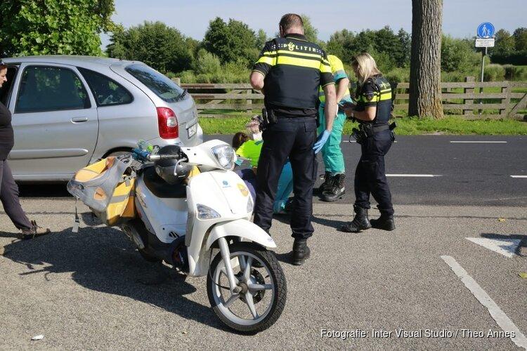 Scooterrijder ernstig gewond bij ongeval Obdam