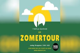 't Kerkhuys op Zomertour zondag 30 aug 13.00-16.30 uur