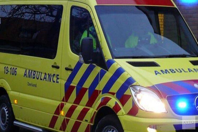 Gewonde bij eenzijdig ongeval op Oostergouw in Hoorn