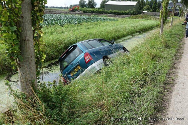 Auto te water in Hauwert