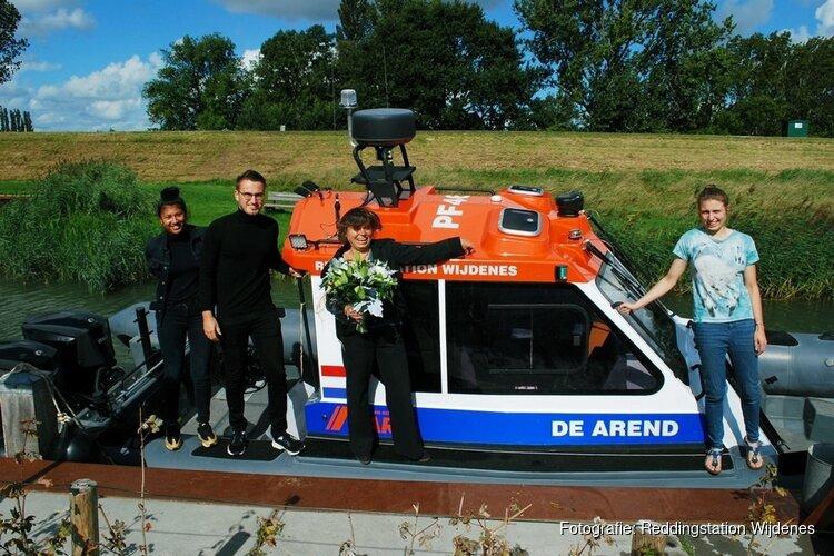 Nieuwe reddingboot van Reddingstation Wijdenes gedoopt en naam onthuld