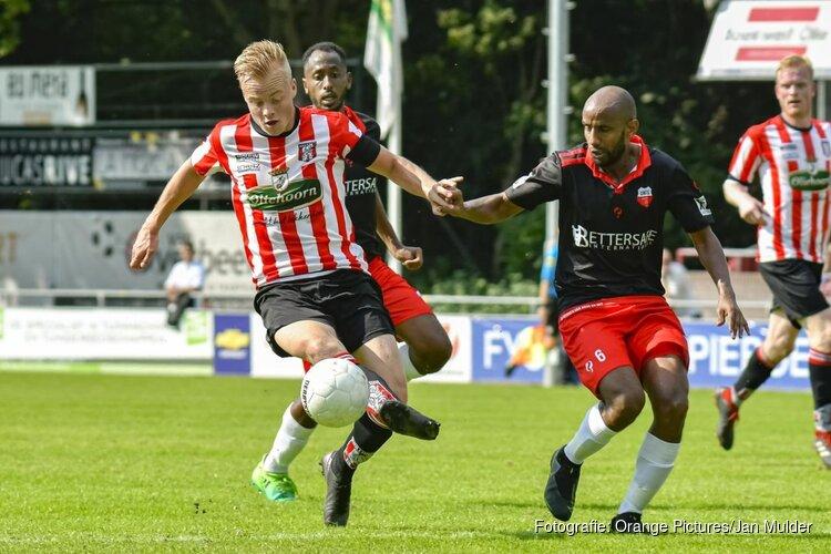 Hollandia heeft eerste driepunter binnen in Derde Divisie