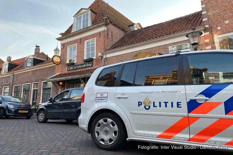 Overval op café Enkhuizen