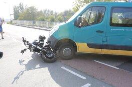 Motorrijder gewond in Ursem