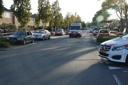 Vrachtwagen in botsing met automobilist