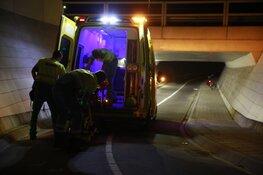 Gewonde fietser aangetroffen in fietstunnel Spierdijk