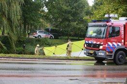 Persoon te water in Hoorn