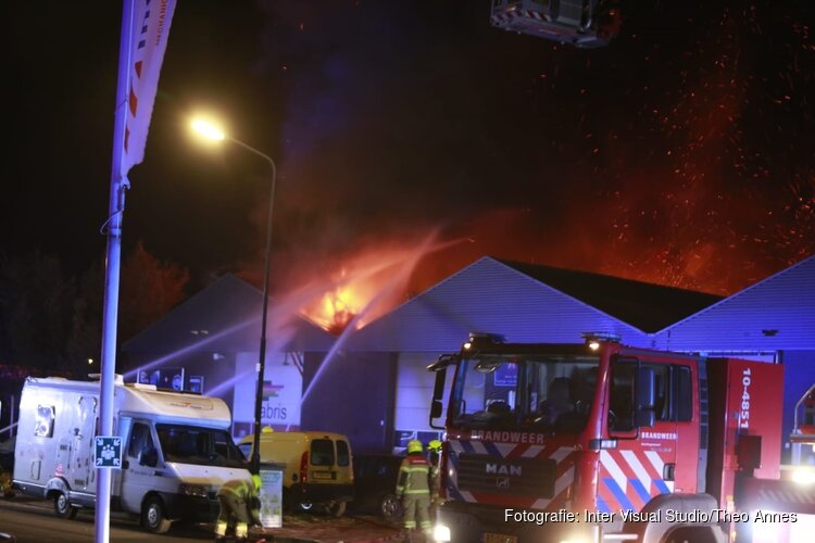 Caravan & Camper Service Centre Heerhugowaard hervat werkzaamheden na brand