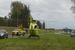 Motorrijder gewond bij ongeval op N245 in Schagen