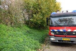 Hutje in brand in Enkhuizen