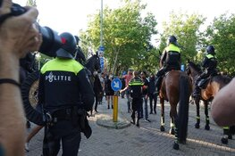 Opnieuw verdachten aangehouden na rellen Hoorn