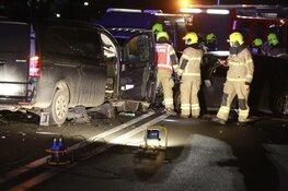 Zwaar ongeluk op N194 bij De Goorn, twee gewonden