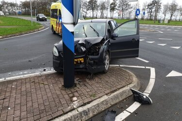 Gewonde bij ongeval N242 bij Oude Niedorp