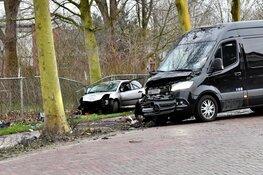 Verdachte gevlucht na ongeval in Midwoud