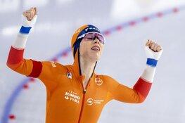Antoinette de Jong prolongeert Europese titel. Irene Schouten knap tweede