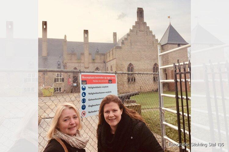 Kasteel Radboud Emma Buis en Stichting Stal135 Sandra Maria Top slaan de handen ineen.